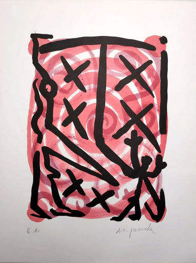 A.R. PENCK - Print-Multiple - Untitled