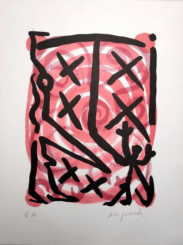 A.R. PENCK - Print-Multiple - Untitled