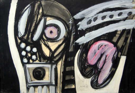 Concetto POZZATI - Painting - senza titolo