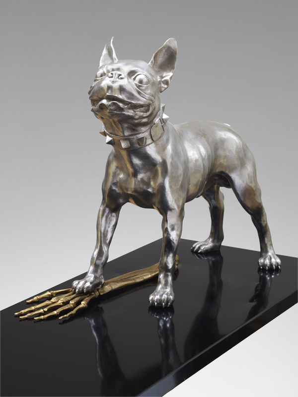 Mauro CORDA - Sculpture-Volume - Boston terrier