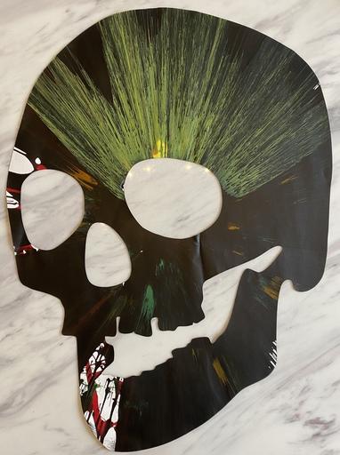 Damien HIRST - Painting - Skull