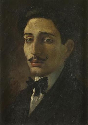 Casimiro SAINZ Y SAINZ - Pintura - Retrato de Caballero