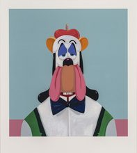 乔治•康多 - 版画 - Droopy Dog Abstraction