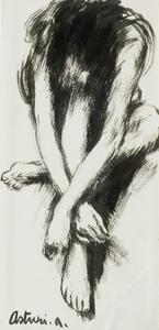 Antonio ASTURI - Painting - Figura