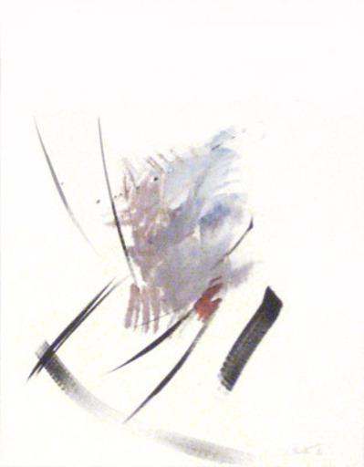 Jean MIOTTE - Zeichnung Aquarell