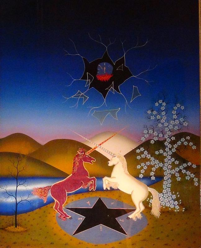Manfred HORN - Painting - Die Zeit Verrinnt.
