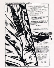 Raymond PETTIBON - Estampe-Multiple - Once upon ... The End