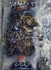 Antoni CLAVÉ - Pintura - Roi a la pipe