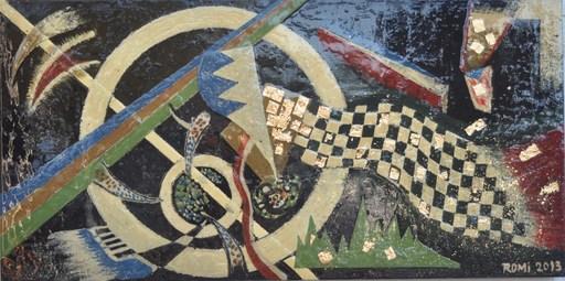 Romeo DOBROTA - Painting - Nativity,
