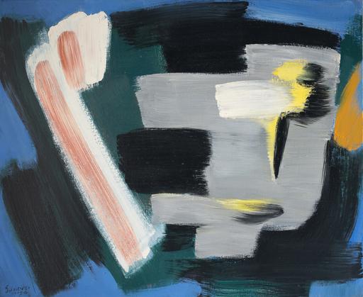 Gérard SCHNEIDER - Painting - Opus 68 B