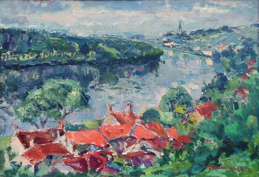 Tadashi KAMINAGAI - Pintura - Paysage