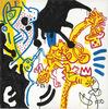 Keith HARING - Pintura - Untitled