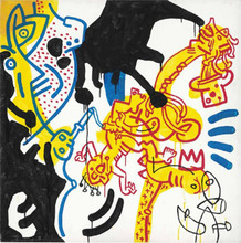 Keith HARING - Pittura - Untitled