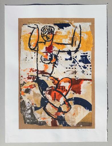 Mimmo ROTELLA - Estampe-Multiple - Modigliani