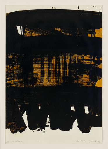 Pierre SOULAGES - Print-Multiple - Lithographie no 22