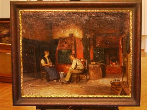 Frederick VEZIN - 绘画 - holsteinische Kamindiele