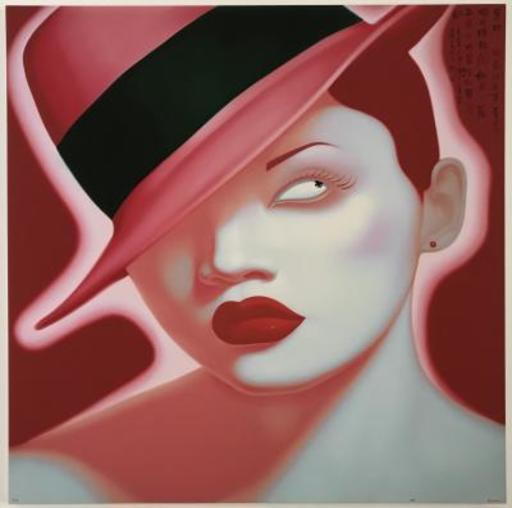 FENG Zhengjie - Stampa Multiplo - Portrait from Serie K