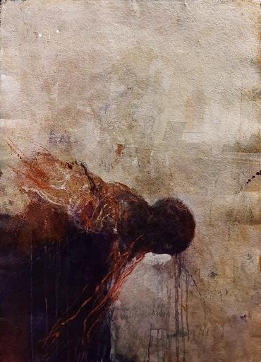 Anton CHRISTIAN - Painting - Die Herkunft der Wahrheit denken