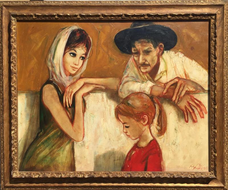 Jean-Baptiste VALADIÉ - Painting - La famille