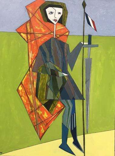 Abraham DAYAN - Peinture - Le Retour de Jeanne d'Arc