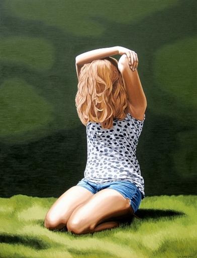 Erlend STEINER LOVISA - Painting - Emma 3    (Cat N° 2710)