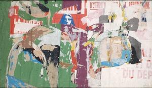 Jacques VILLEGLÉ - Gemälde - Boulevard de la Bastille