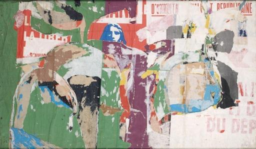 Jacques VILLEGLÉ - 绘画 - Boulevard de la Bastille