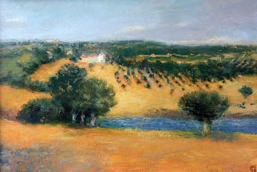 Levan URUSHADZE - Gemälde - Olive grove