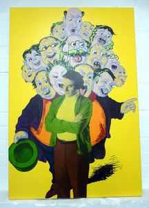 Karen SYLVESTER - Peinture - o.T.