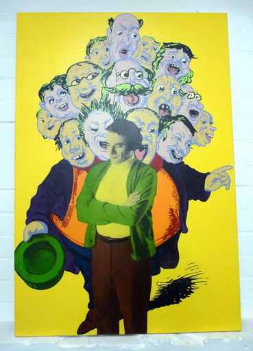 Karen SYLVESTER - Gemälde - o.T.