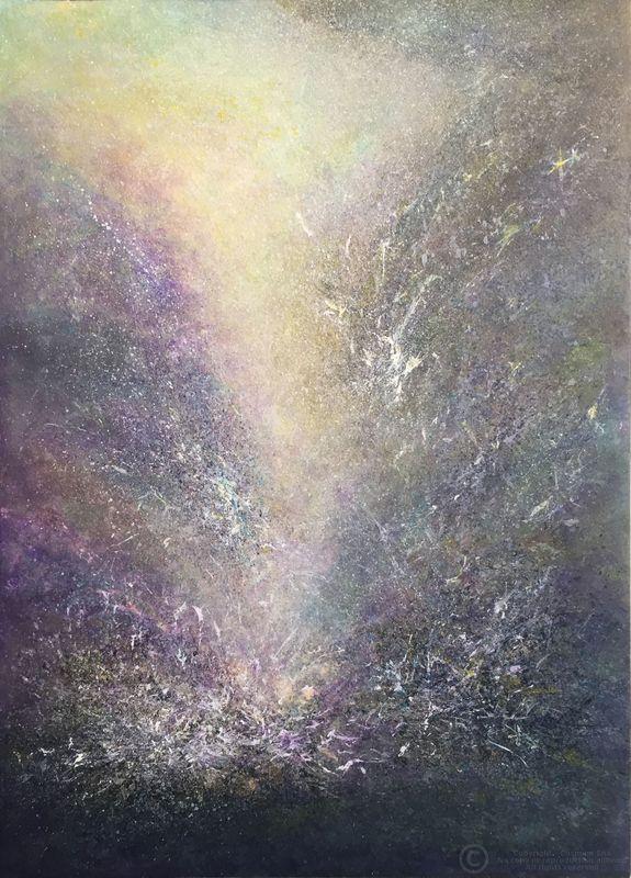 COSMINA - Painting - Untitled Ref. P16-16