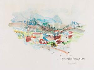 Hans STAUDACHER - Drawing-Watercolor - Kitzbühel