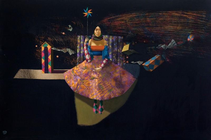 Bobur ISMOILOV - Pintura - Anemometr