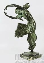 Gleb W. DERUJINSKY - Escultura - Ida Rubinstein as Zobeida in Scheherezade  (Odalisque)