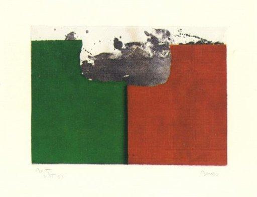 Alfons BORRELL PALAZON - Grabado - Records de paisatge-2