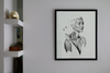 David BAYO - Drawing-Watercolor - 'Astrée'