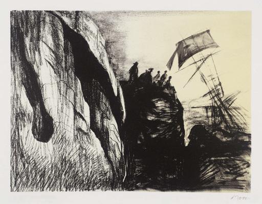 Henry MOORE - Druckgrafik-Multiple - Shipwreck II