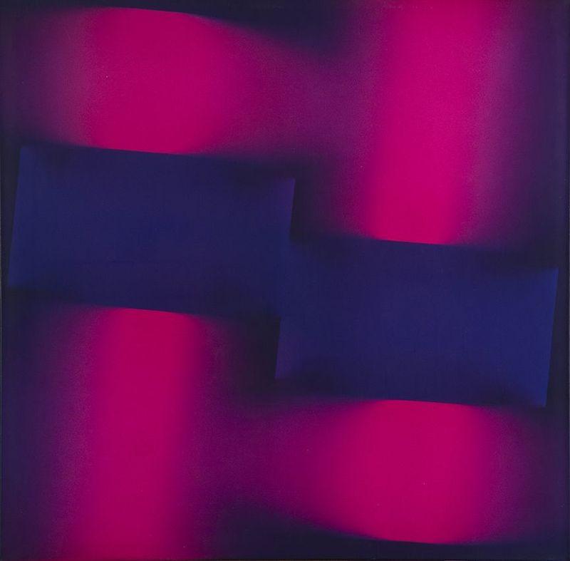 Miguel Angel VIDAL - Gemälde - Buscando la Luz en la forma