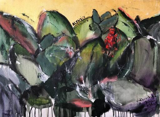 Julia PEKER-MOKHOVIKOVA - Pittura - The Scarlet Flower