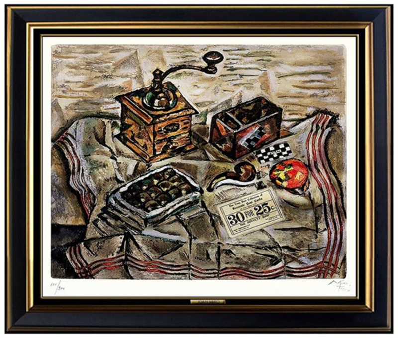Joan MIRO - Stampa Multiplo - Le Moulin a Cafe