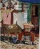 """Zacarías GONZALEZ - Drawing-Watercolor - """"Lasiesta"""""""
