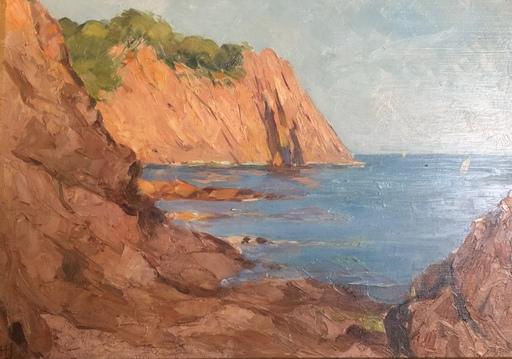 Hortense JANVIER - Peinture - Paire sur la côte de l'Esterel