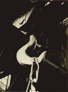 Albert RENGER-PATZSCH - Fotografia - Industrie, Lasthaken m. Stahltrosse