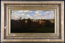 Charles François DAUBIGNY (1817-1878) - Paysage de campagne