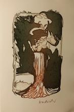 Pierre ALECHINSKY - Grabado - Ces robes qui m'évoquaient VENISE