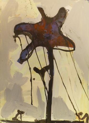 Tsibi GEVA - Painting - Iris