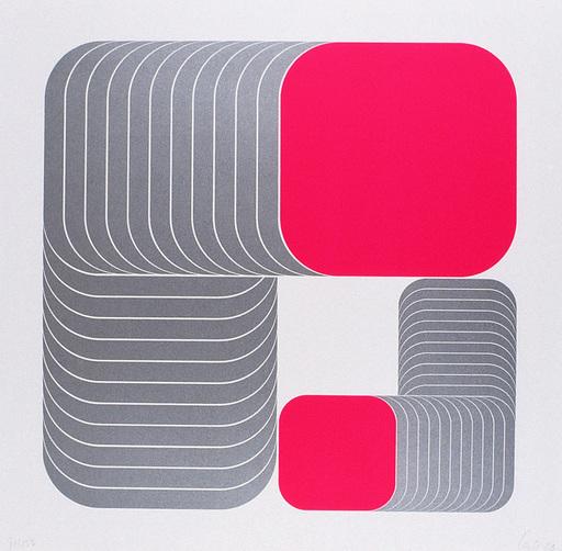 Thomas LENK - Estampe-Multiple - geschichtete Bierdeckel