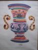 André DERAIN - Drawing-Watercolor - VASE AUX CYGNES