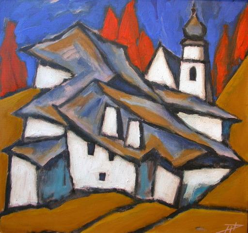 """Herbert DANLER - Pintura - """"Bergweiler"""""""