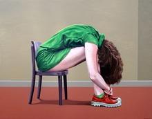 Erlend STEINER LOVISA - Painting - Margot 7    (Cat N° 2716)